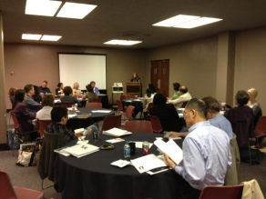 Faculty workshop at University of Kentucky
