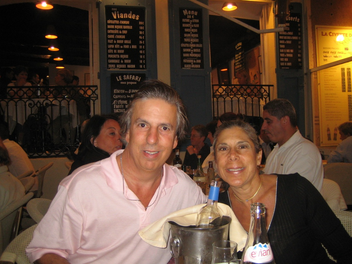 Dinner on Cours Saleya, Nice, France