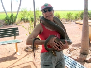 With Ollie, Adelaide River, Northern Territory, Australia