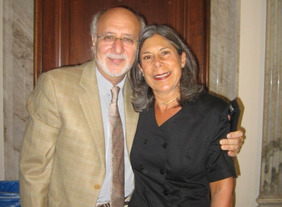 With Peter Yarrow on Capitol Hill lobbying for service-learning