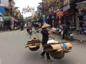 Recycling Hanoi style